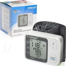Omron RS3 Wrist Blood Pressure Monitor