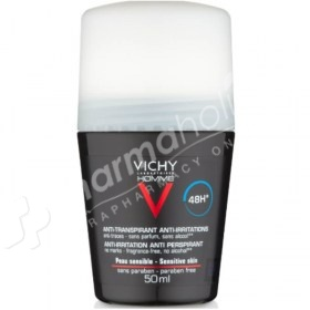 Vichy Homme 48 Hour Antiperspirant Roll On