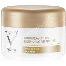 Vichy Dercos Nourishing Reparative Rich Mask